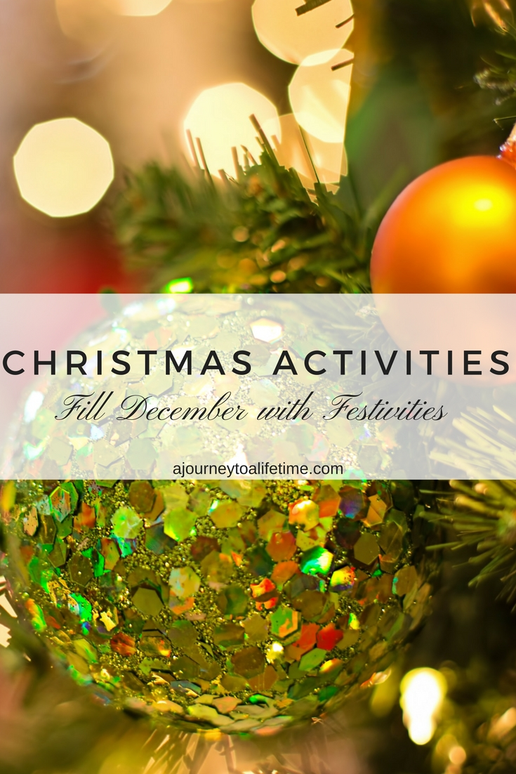 Christmas Activities fill your December with festivities and traditions that won't cost you a fortune. Budget/XMAS/Family