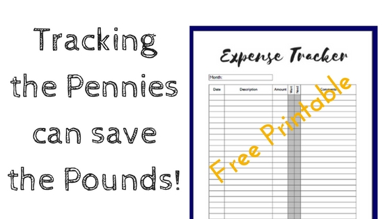 tracking the pennies can save the pounds free expense tracker a